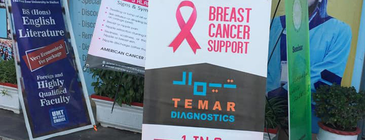 Breast Cancer Awareness Lecture at a local university in South-East Asia